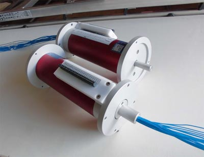 Schleifringkörper 24–pol. (Capsule slip ring 24 ways High-speed-Version)